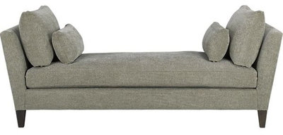 Contemporary Indoor Chaise Lounge Chairs by Crate&Barrel - Guest Picks: 20 Backless Daybeds For Divine Lounging