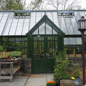 attached English greenhouses / glasshouses - Victorian greenhouses / glasshouses