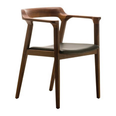 leather dining room chairs   houzz