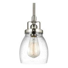"Sea Gull Lighting 6114501 Belton 1-Light 5-3/8"" Mini Pendant"