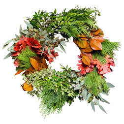 Farmhouse Wreaths And Garlands by Club Botanic
