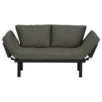 Futon Sofa Convertible Sofa Bed With Adjustable Armrests