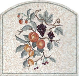 Traditional Fruit Mosaic - Tile