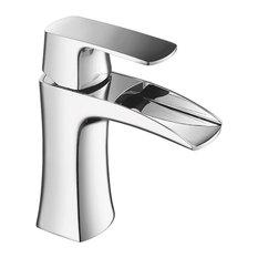 Eviva Lulu One Handle Bathroom Faucet, Chrome