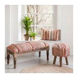 Nisha Rectangular Cushion - Filled
