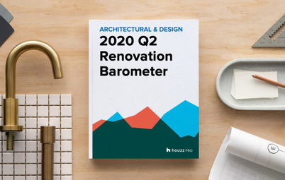 2020Q2 Houzz Renovation Barometer - Architectural & Design Sector