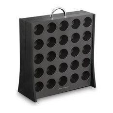 K-Cup Coffee Pod Display Rack 50 Capacity, Black
