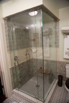 Presidio Heights Pueblo Revival Bath Vanities Traditional Bathroom San Francisco By