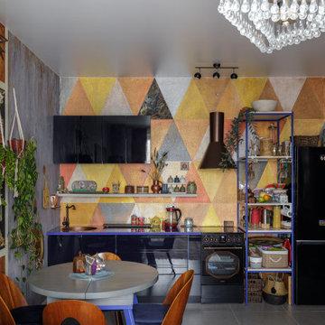 «Нарисованный дом» или Handmade interior