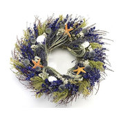 Lavender Isles Beach Wreath