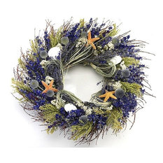 Nautical Luxuries - Lavender Isles Beach Wreath - Wreaths and Garlands