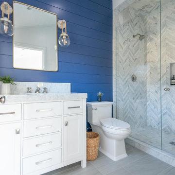 Coastal Blue Bathroom