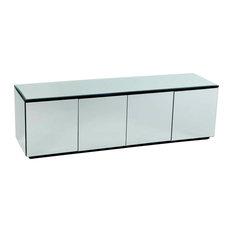 Cuboid Mirrored Sideboard