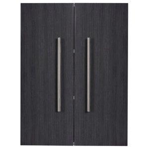 Emotion Aurum-L Bathroom Cabinet, Grained Anthracite