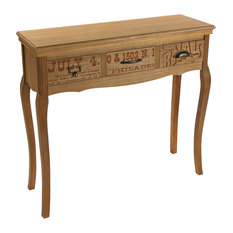 Riano Console Table, 3-Drawer