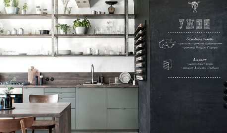 Houzz Tour: Loads of Creativity in a Little Russian Townhouse