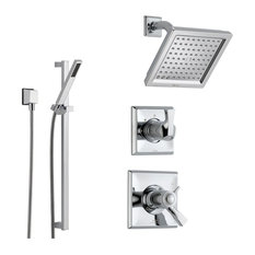 Delta Dryden Collection Chrome Finish Custom Shower System SS17T5185