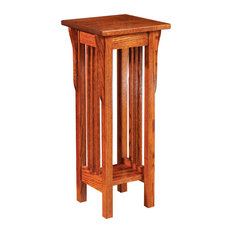Amish Prairie Mission Oak Plant Stand USA Made Genuine