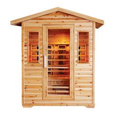 Cayenne 4 Person Outdoor Sauna