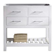"Caroline Estate 36"" Cabinet Only, White"