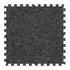 Alessco Eva Foam Rubber Premium Softcarpets 10'x16' Set, Dark Gray