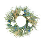 Sea Glass Wreath, Small