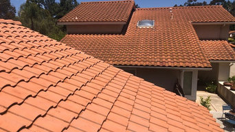Tile Roof Cleaning - Soft Wash
