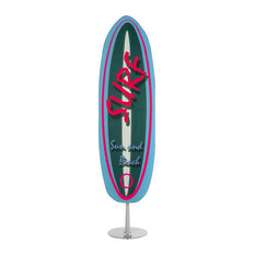 Surfboard Ironing Board, Blue