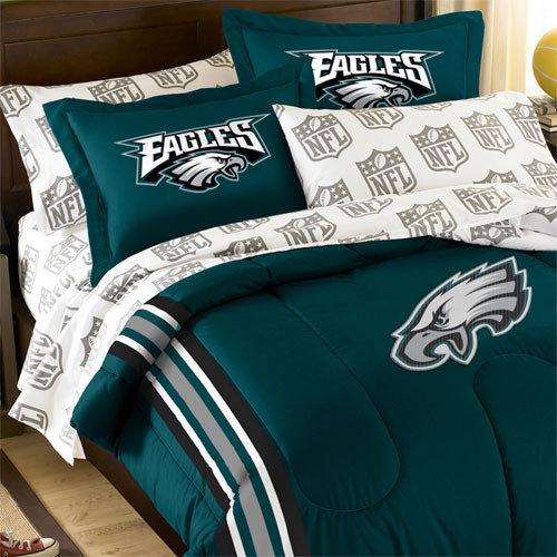 nfl philadelphia eagles bedding and room decorations