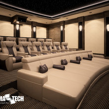 Ideas for bespoke Home Cinema rooms
