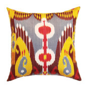 Traditional Uzbek Design Cushion Cover