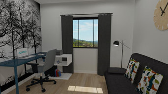 Duplex New Development Design and 3D Render with VR for