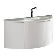 Benjamin Vanity and Glass Sink, 47.5""