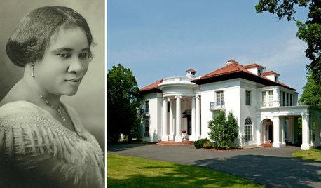 100年前のアメリカ。大富豪になった黒人女性が建てた邸宅