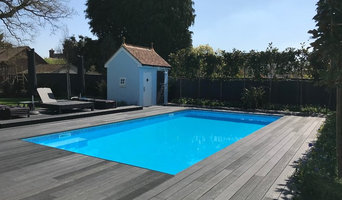 Tiled concrete pool in Ascot