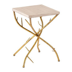 Southern Enterprises - Nymeria Branch Accent Table - Side Tables and End Tables