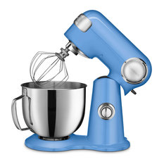 5.5-Qt. Tilt-Back Head Stand Mixer with 1 Power Outlet, Periwinkle Blue