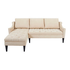 Transitional Sectional Sofas Houzz  sc 1 st  Sofa Ideas : transitional sectional sofa - Sectionals, Sofas & Couches