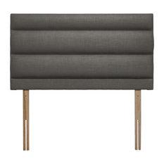 Monza Upholstered Headboard, Slate Grey, 135 cm