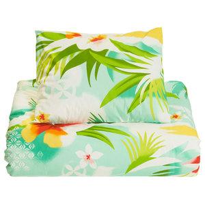 Pacific Flower Duvet Set, UK Single