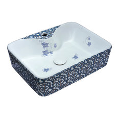 Cotta Series Ceramic Vessel Sink, Lavender