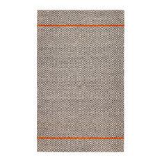 Anansi Natural Fiber Flat-Woven Rug, 5'x8'