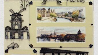 "wall panel ""Paris"""