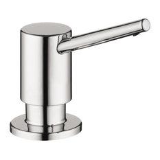 Hansgrohe Contemporary Soap Dispenser, Chrome