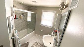 Hamilton Traditional Bathroom remodel