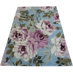 Elegance Grace Rug, Light Blue, 160x220 cm