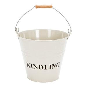 Fire Vida Kindling Bucket, Cream