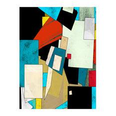 """Abstract"" Print, 90x120 cm"