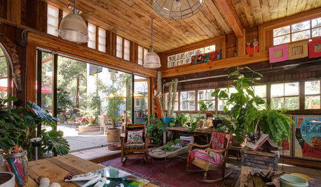 See How an Old Garage Became a Colorful Art Studio