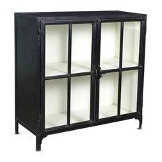 Glendale Vintage Industrial Storage Cabinet